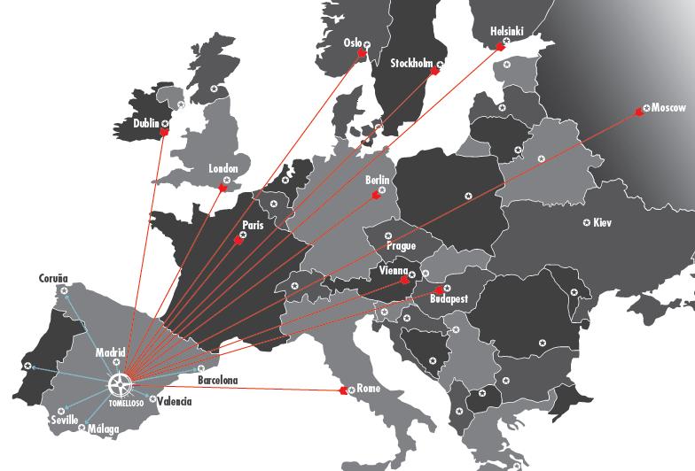 paises eurosursales